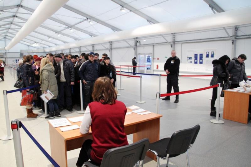 Многофункциональный миграционный центр в д. Сахарово